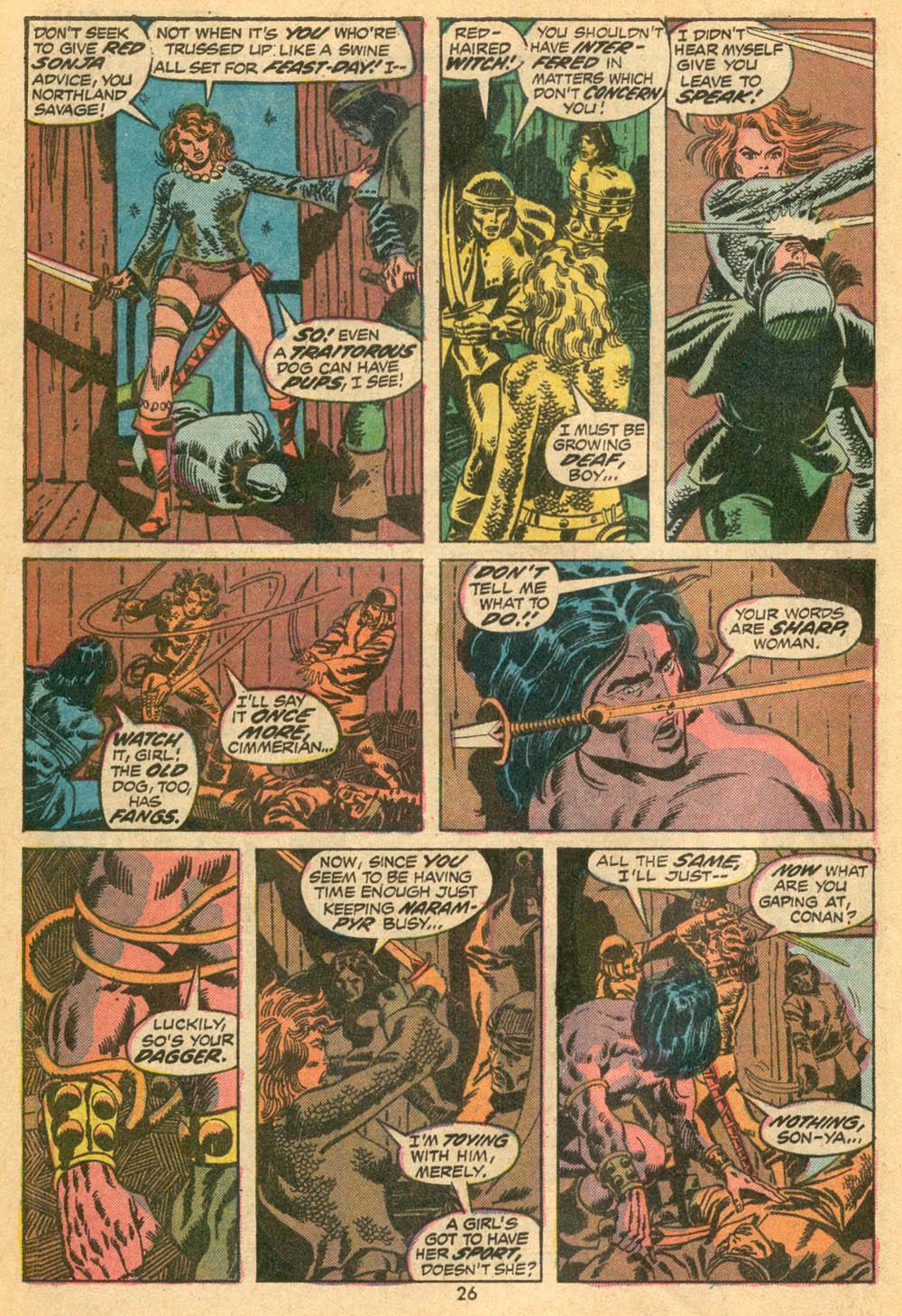 Conan the Barbarian (1970) Issue #23 #35 - English 18
