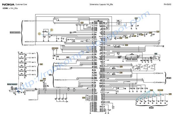 nokia 1202 diagram schematic