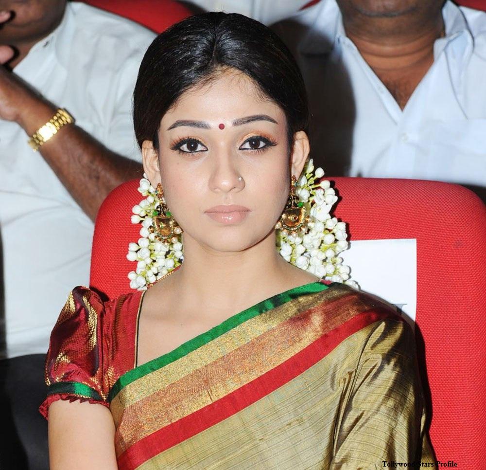 Breakup Malayalam: Nayanthara In Golden Kanchipuram Saree
