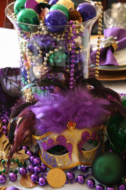 Mardi Gras Table & Marshau0027s Creekside Creations: Mardi Gras Table
