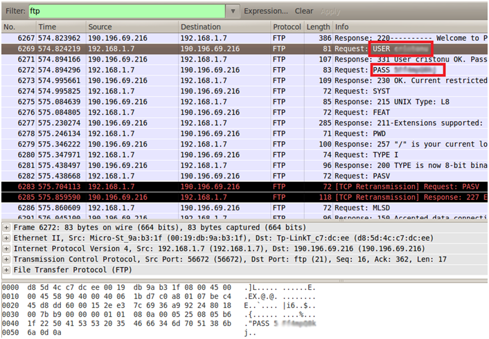 Sniffing con Wireshark 22