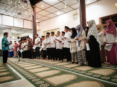pelantikan takmir masjid perak 2017-2020