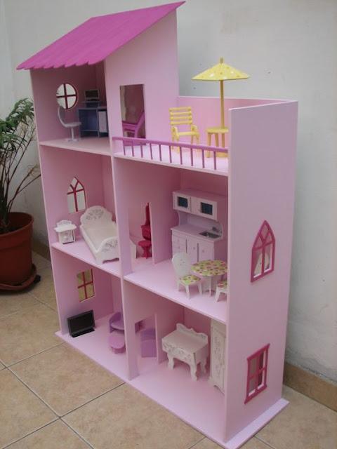 77 Casas de bonecas muito fofas