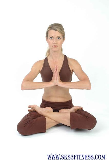 A girl doing Lotus Pose Yoga Asana Pose for Meditation