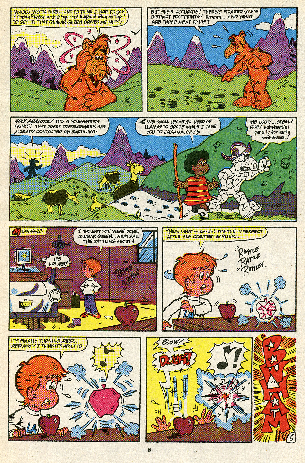 Read online ALF comic -  Issue #39 - 10