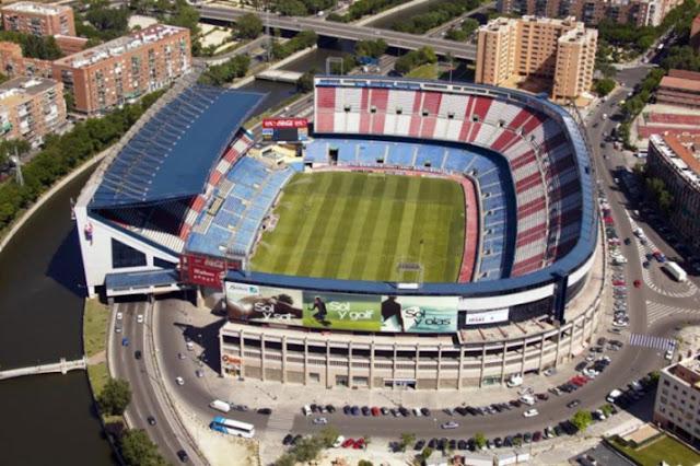 Vicente Calderón foi inaugurado em 1966 (Foto: Cristina Quicler/AFP)