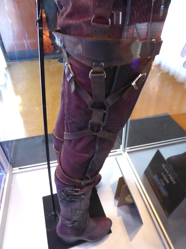 Guardians of the Galaxy 2 Nebula costume leg detail