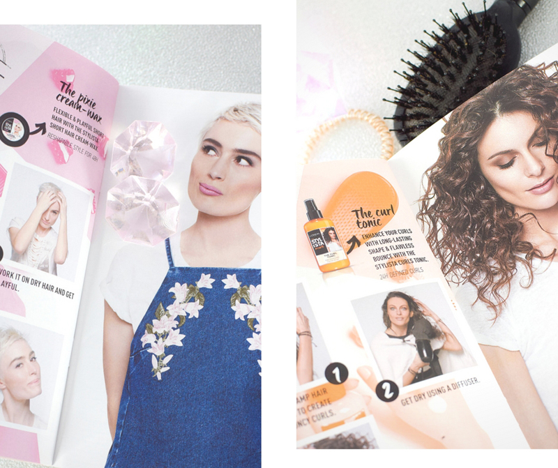Stylista von L'Oréal Paris, #pixie, #curls,Test, Erfahrung, Review