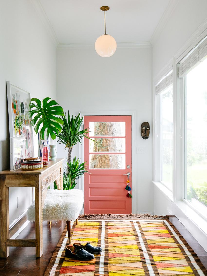alfombra para decorar recibidor