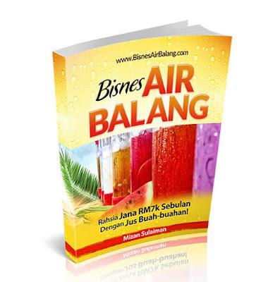 Review Ebook - Panduan Bisnes Jual Air Balang