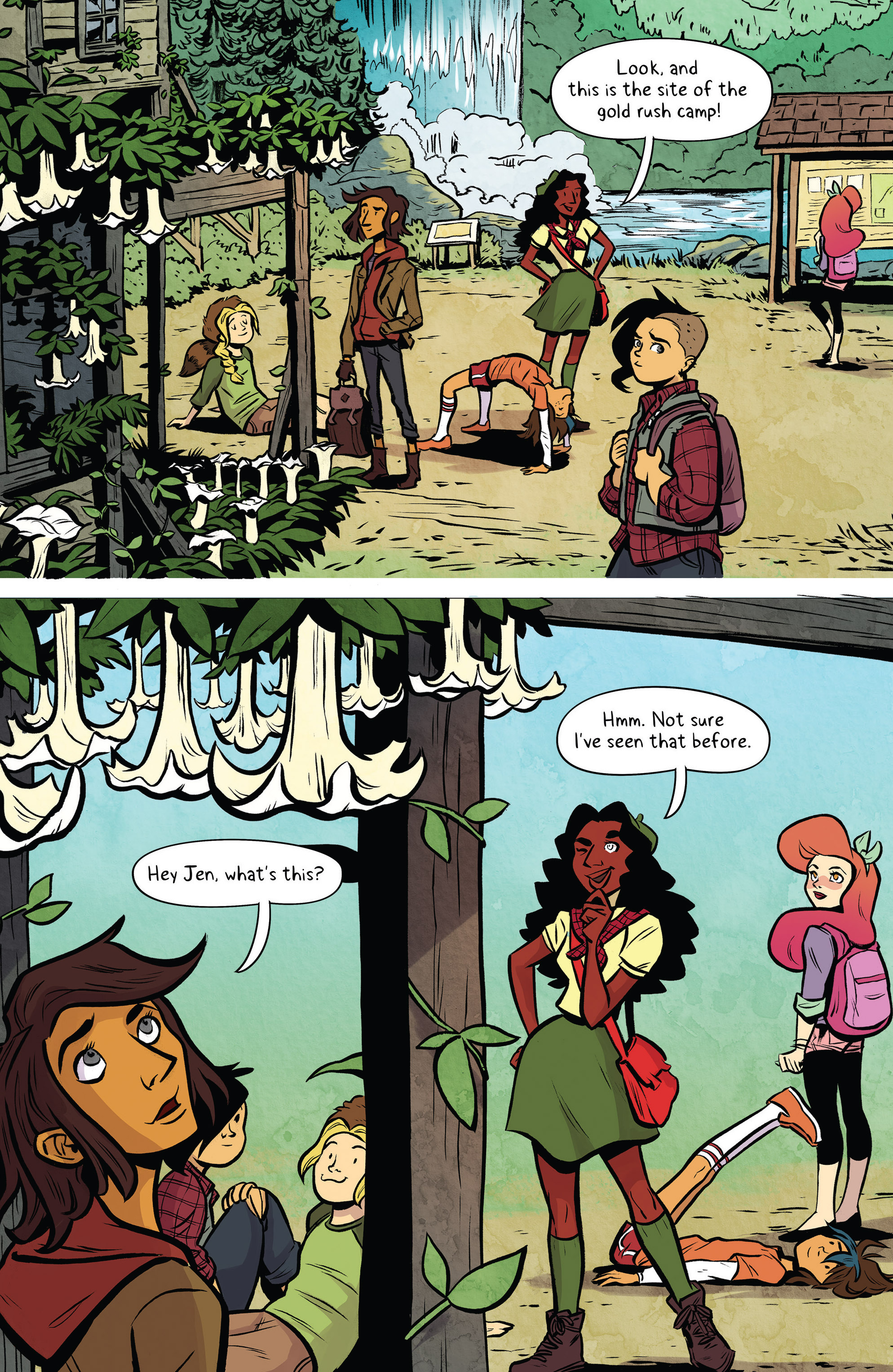 Read online Lumberjanes: Makin' the Ghost of It 2016 Special comic -  Issue # Full - 11