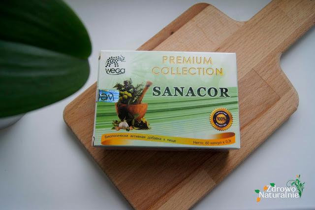Sanacor - Ochrona przed pasożytami i odrobaczanie - 80 kapsułek