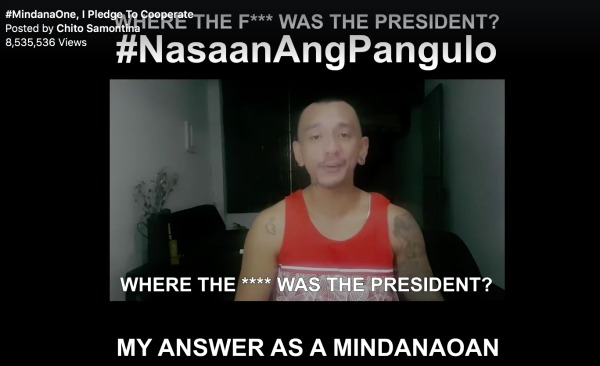 Davao vlogger answers the question #NasaanAngPangulo?