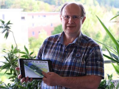Jörg Niederer aus der Schweiz wird bald nach London pilgern