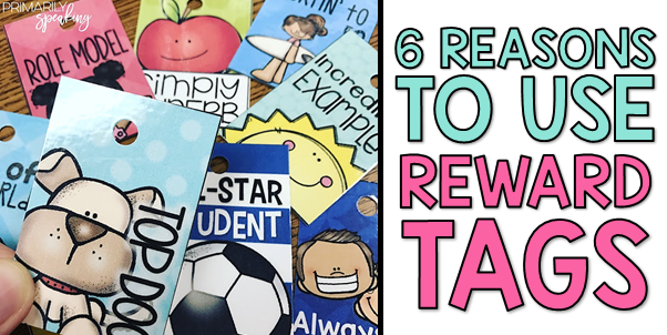 Classroom Management Reward Tags