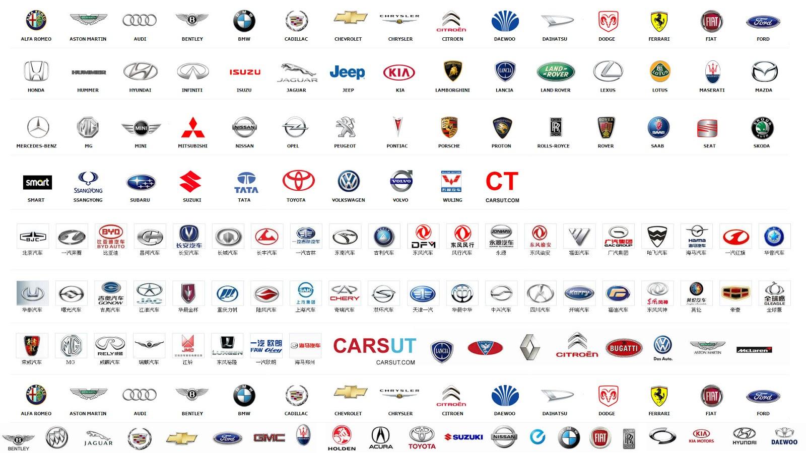 Luxury Vehicles Logo: Luxury Car Logos