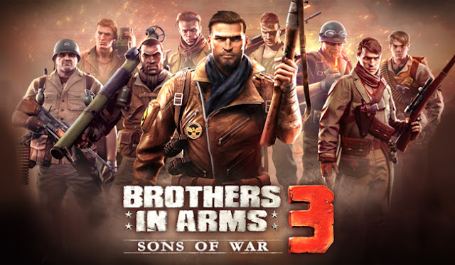 Brothers in Arms 3 Mod Apk Data v1.4.4c Update Terbaru (Mega Mod)