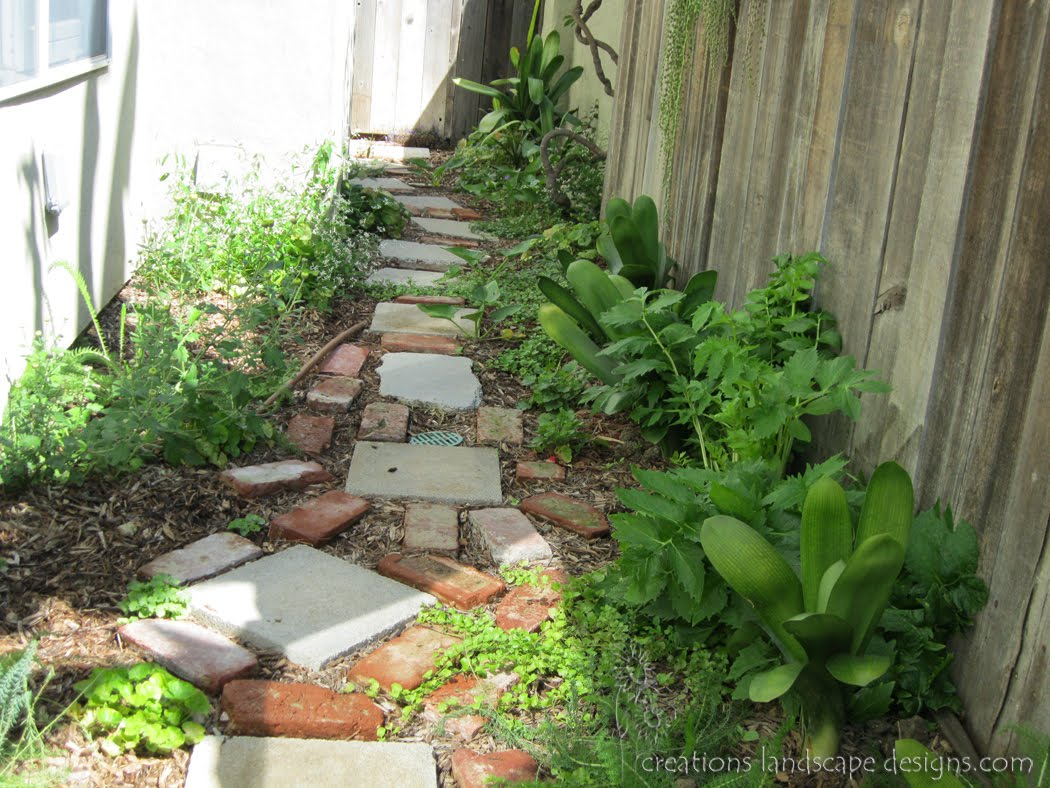 earth friendly landscapes: REUSEING IN YOUR BACKYARD on Long Narrow Yard Landscape Design Ideas id=39812