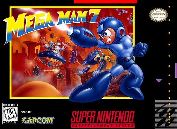 Megaman 7 [Español] - Portada