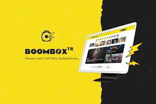 BoomBox Son Sürüm Türkçe Dil Dosyası Full