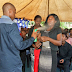 Photos: South African Prophet, Lethebo Rabalago uses insecticide to 'heal' church members