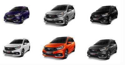 Warna Honda Mobilio Terbaru 2017 Semakin Keren