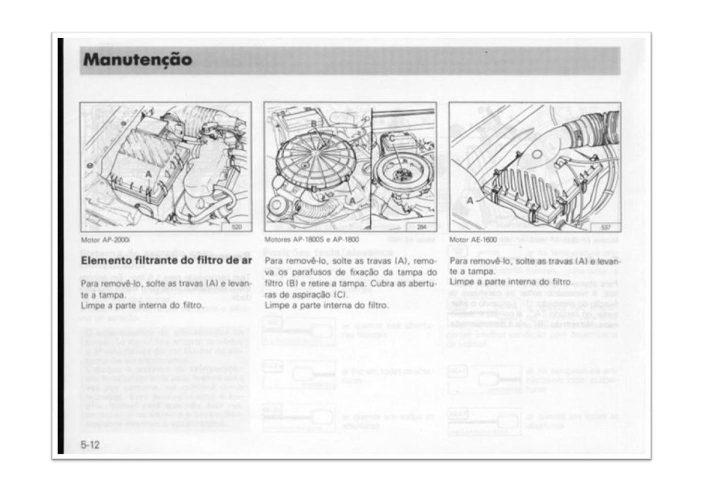 OFICINA VW : MANUAL DO PROPRIETÁRIO LINHA GOL/SAVEIRO