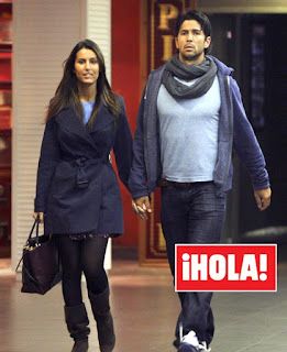 Fernando seen holding hands with his girlfriend in public