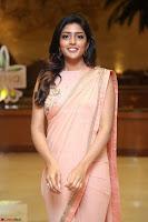 Eesha Rebba in beautiful peach saree at Darshakudu pre release ~  Exclusive Celebrities Galleries 077.JPG