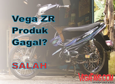 Siapa Bilang Yamaha Vega ZR Produk Gagal!