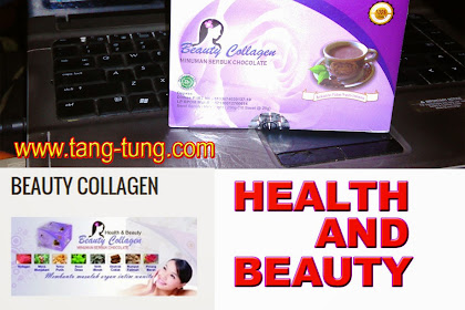 Beauty Collagen minuman serbuk coklat