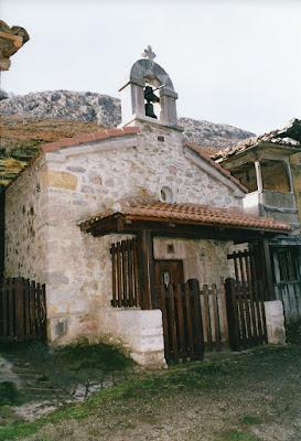 Capilla de Santa Bárbara de La Rebollada Quirós
