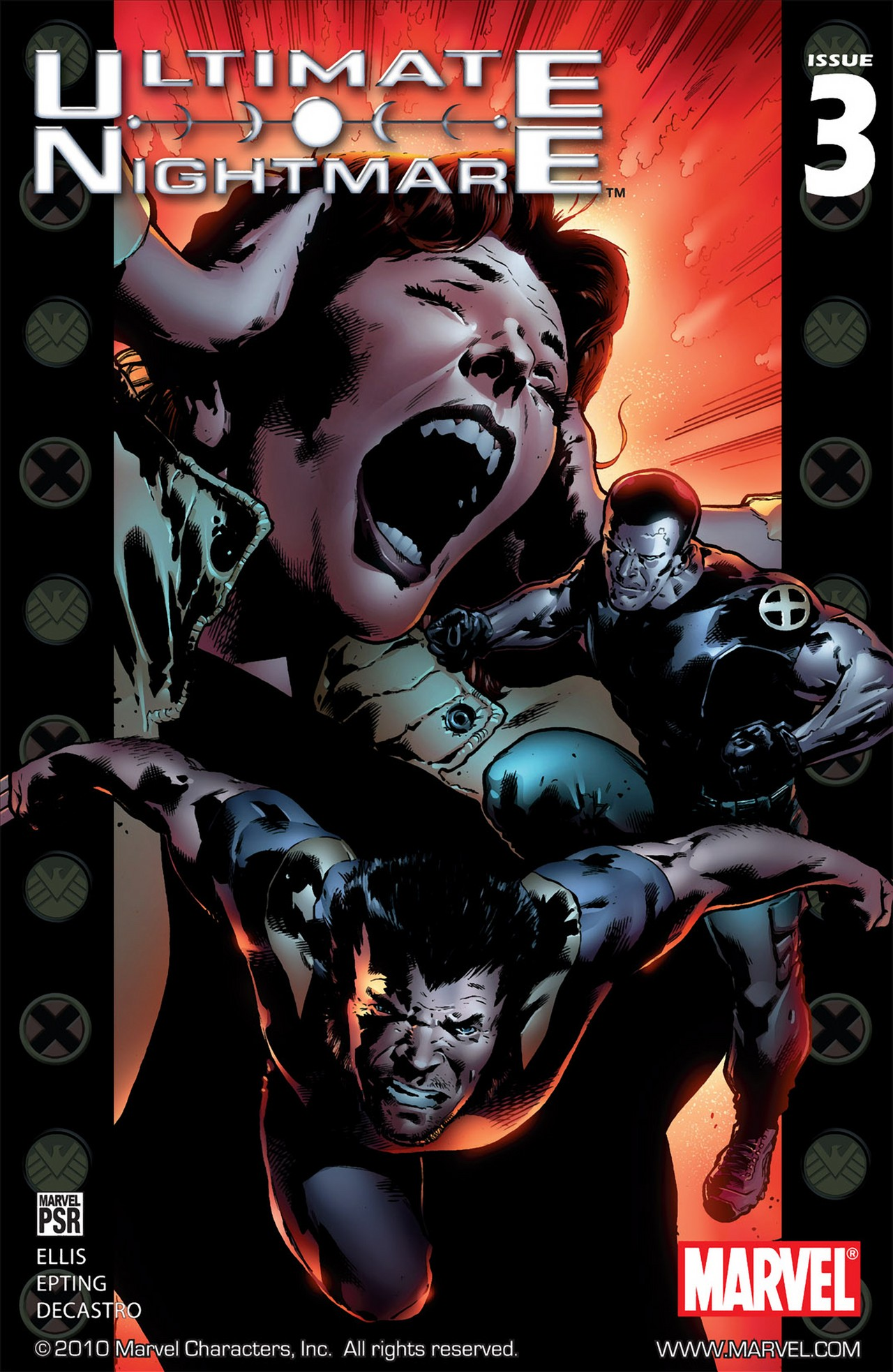 Read online Ultimate Nightmare comic -  Issue #3 - 1