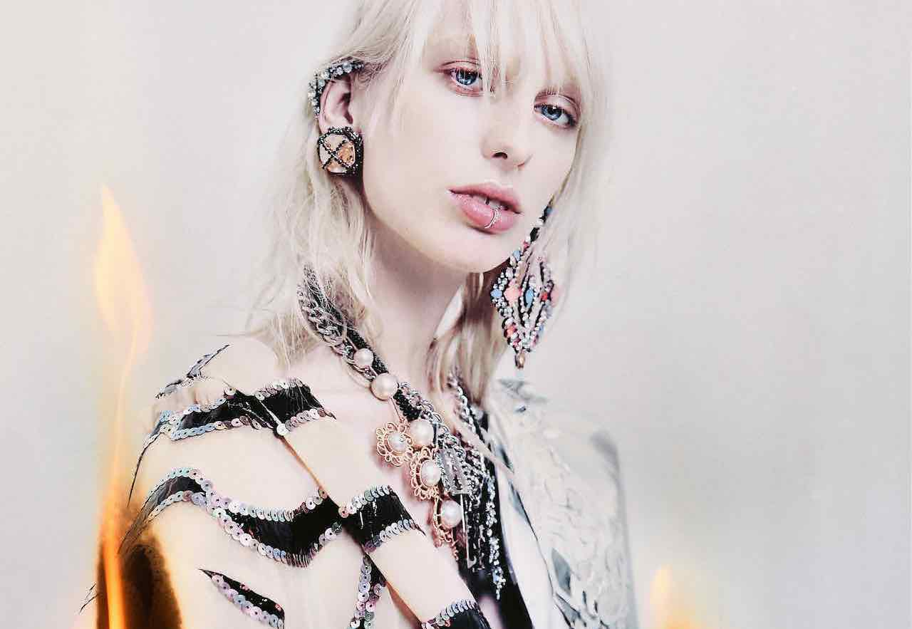 lili sumner by philip meech for odda #8