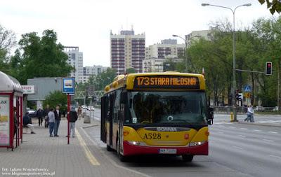 Scania OmniCity z PKS Grodzisk Mazowiecki