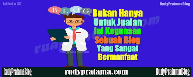 Kegunaan Blog