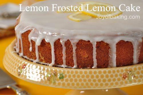 Yellow Butter Cake Recipe Joy Of Baking: The Scorpion: กุมภาพันธ์ 2011