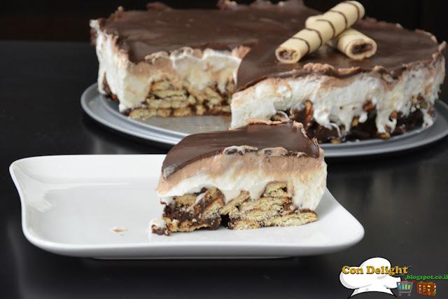 עוגה עם שלושה שוקולדים three chocolates cake