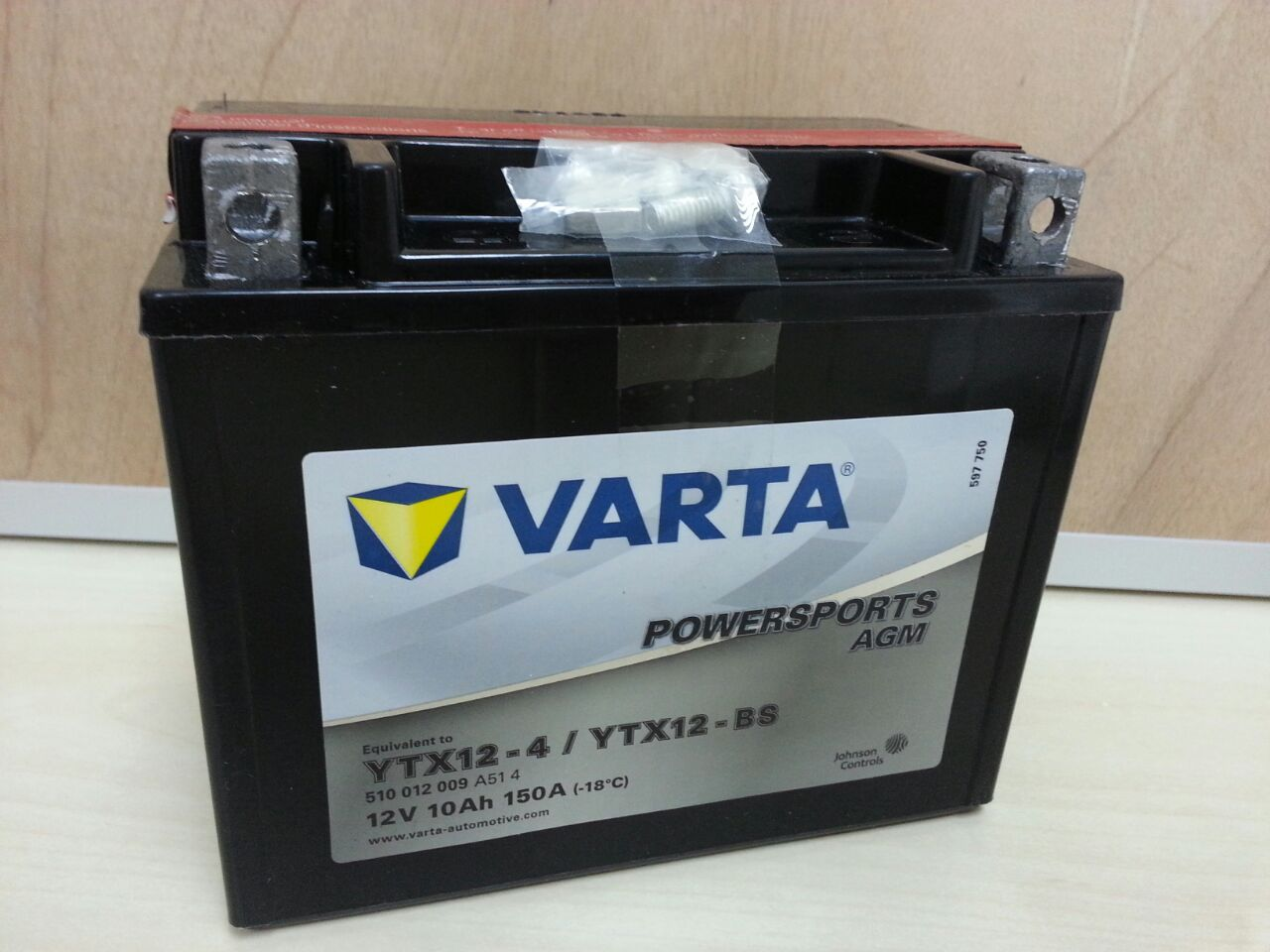 0da77ae1f7a Varta Powersports AGM. YTX12-BS. Contact 017-7117790 for further details.  www.facebook.com/vartamalaysia