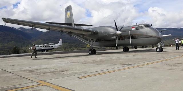 Hilang Kontak di Ilaga, Kini Pesawat Kargo Telah Ditemukan ?