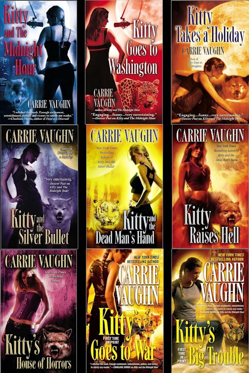 Interview with Carrie Vaughn and Giveaway - August 4, 2012