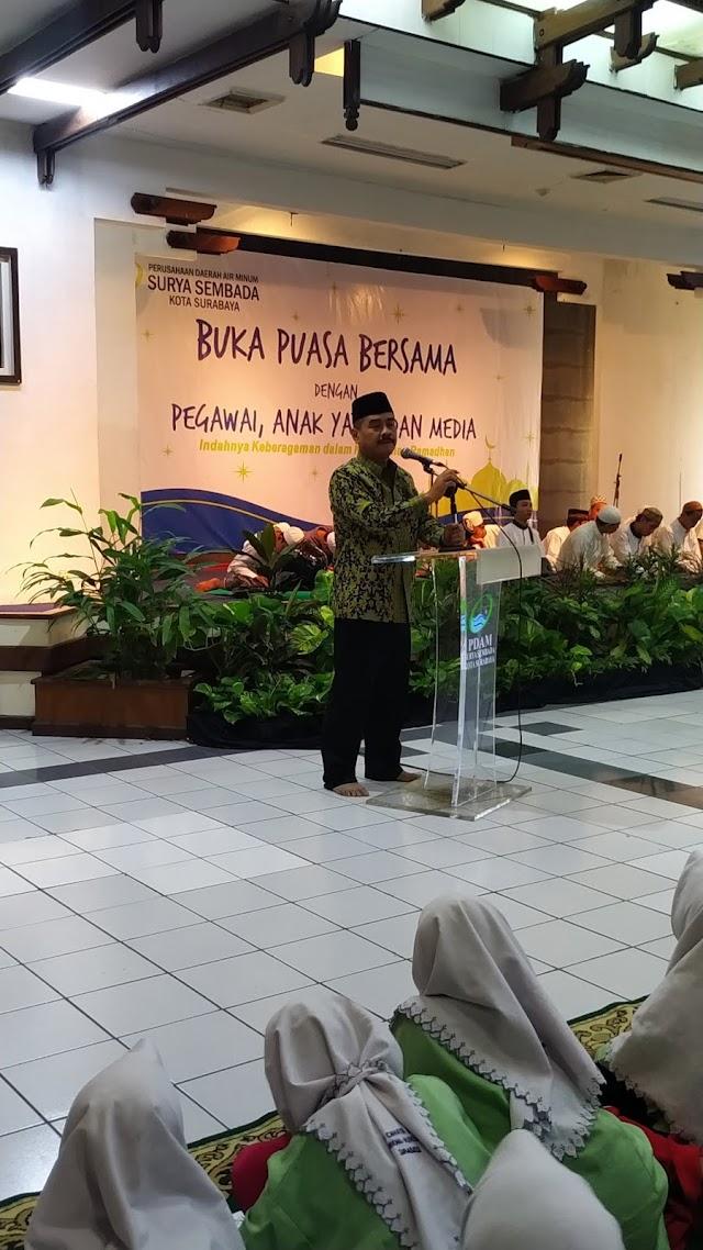 Begini Cara Bersyukur PDAM  Surya Sembada Kota Surabaya