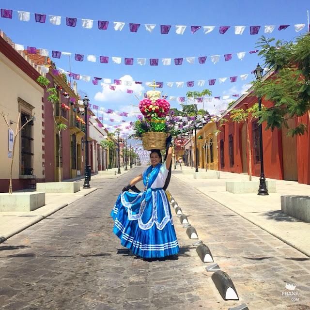 China oaxaqueña en el centro de Oaxaca