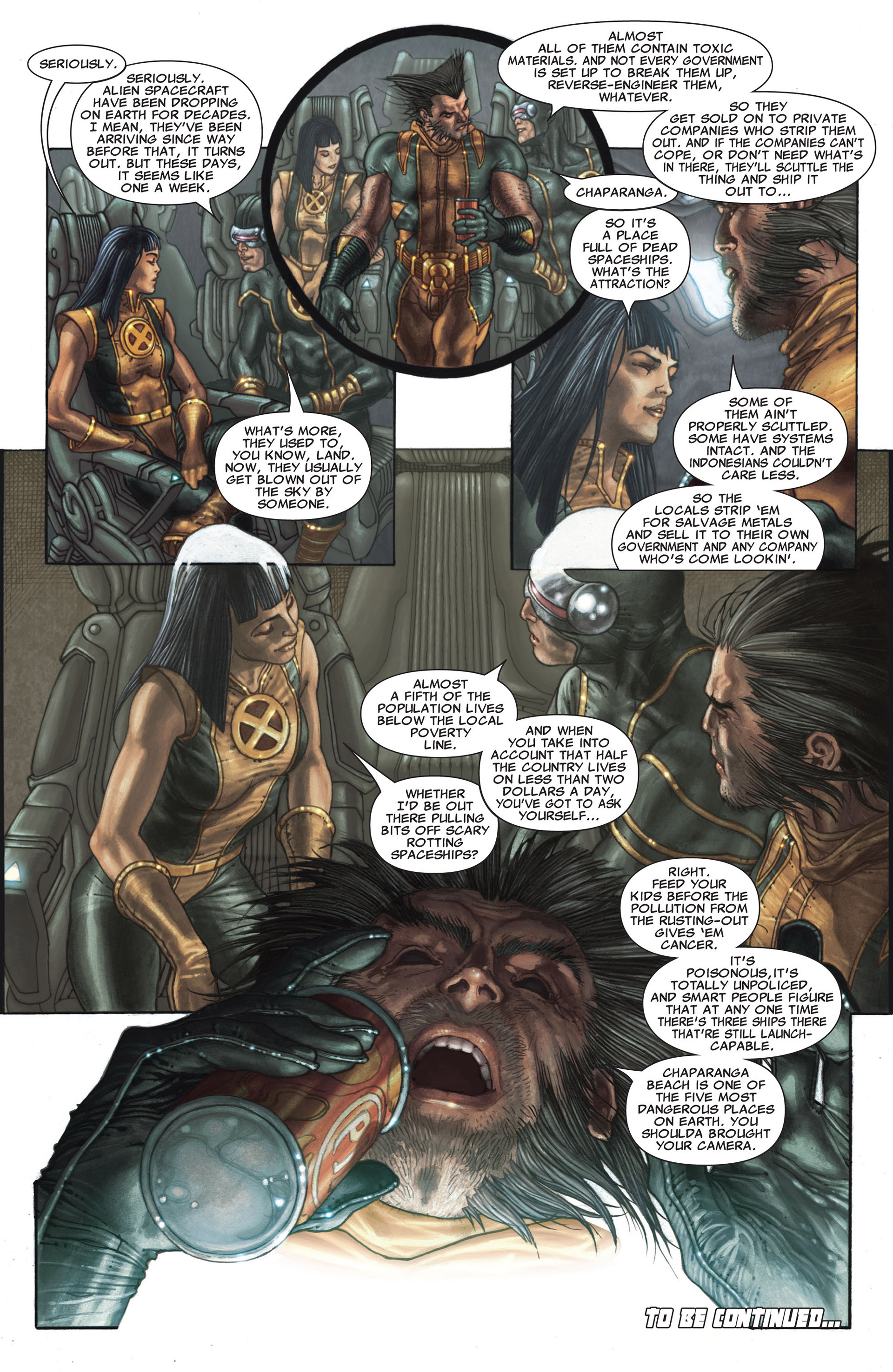 Read online Astonishing X-Men (2004) comic -  Issue #25 - 24
