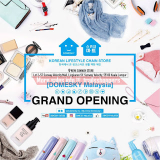 Domesky Korean Lifestyle Chain Store at Sunway Velocity Mall