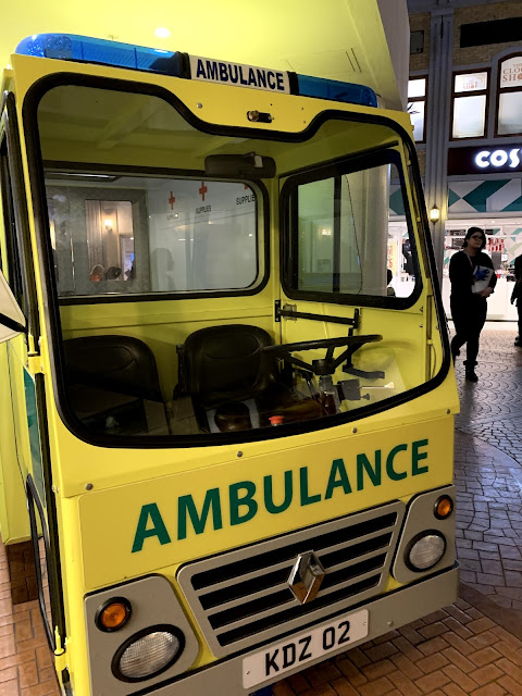Ambulance at Kidzania London