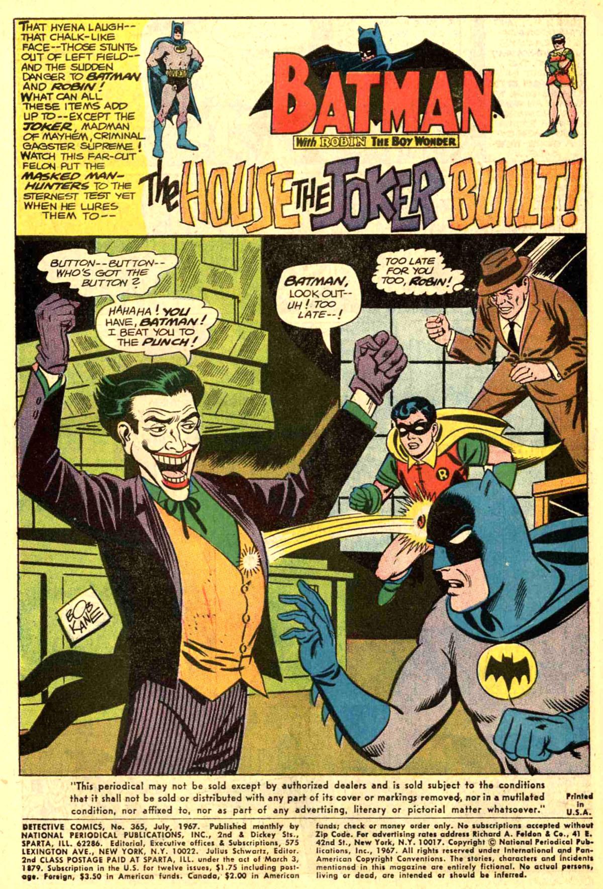 Detective Comics (1937) 365 Page 2