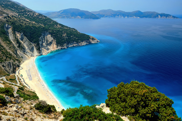 Myrtos Beach,Greece