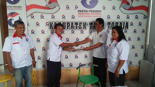 Tamatan STT Kibaid ini Langkahkan Kaki Menuju Caleg 2019 di Tana Toraja