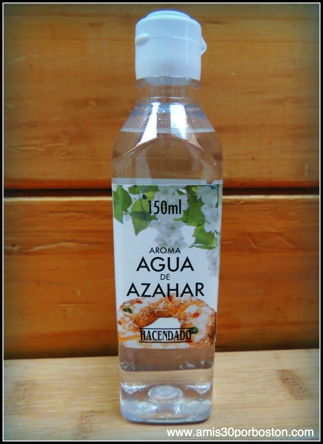 Los Productos Españoles en mis Maletas a Boston: Agua de Azahar